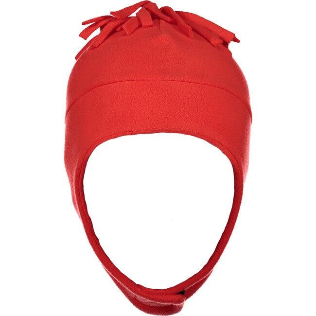 Orbit Fleece Hat,Red