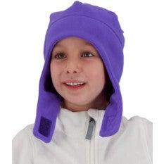 Orbit Fleece Hat,Purr-Ple