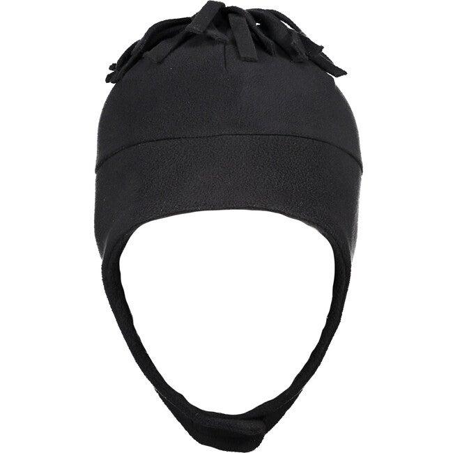 Orbit Fleece Hat, Black