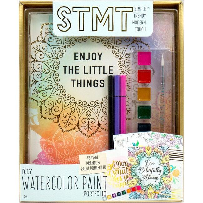 DIY Watercolor Portfolio