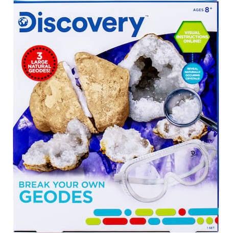 Break Your Own Geodes