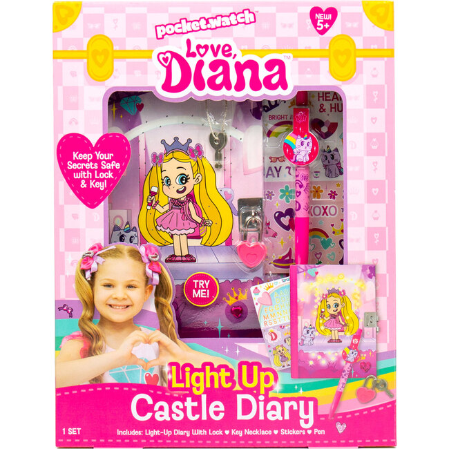 Light Up Castle Diary