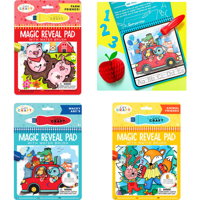 Magic Reveal Pads, Awesome Animals Bundle