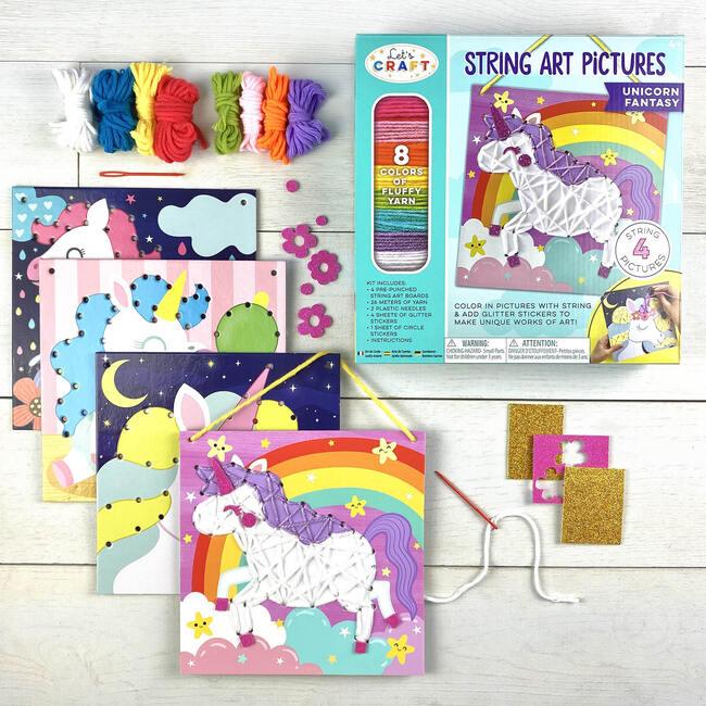String Art Pictures, Unicorn Fantasy