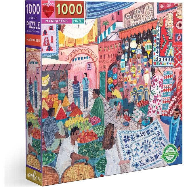 Marrakesh 1000 Piece Square Puzzle