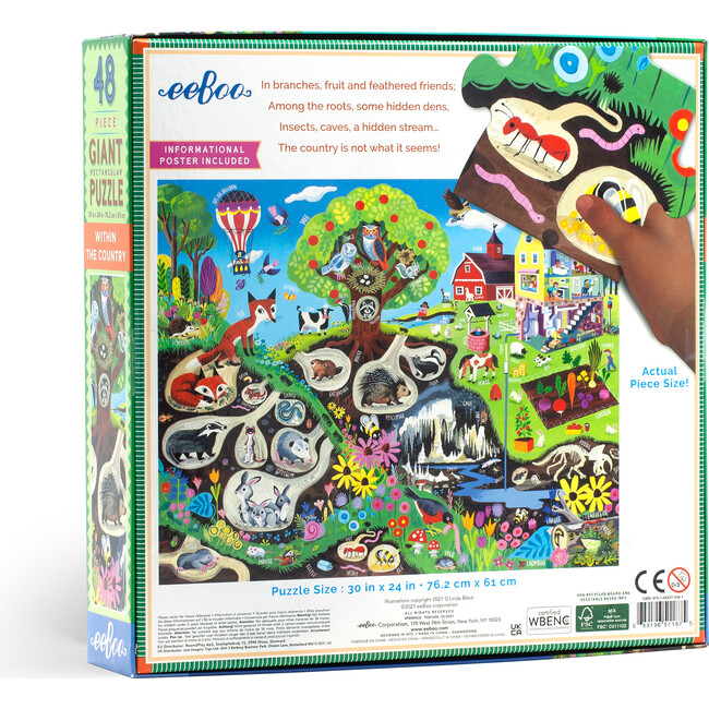 Within the Country 48 Piece Giant Puzzle