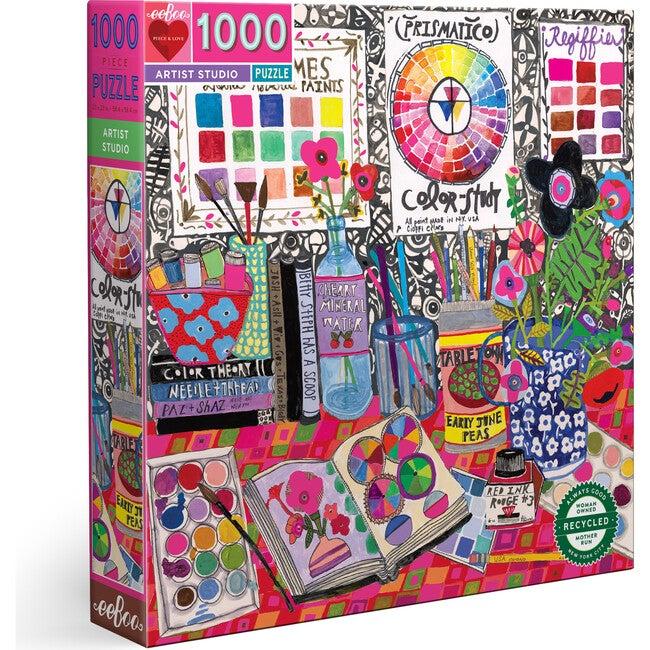 Artist Studio 1000 Piece Square Puzzle