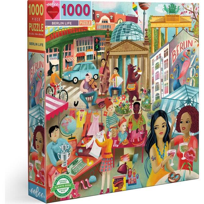 Berlin Life 1000 Piece Square Puzzle