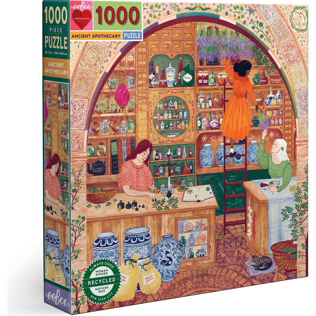 Ancient Apothecary 1000 Piece Square Puzzle