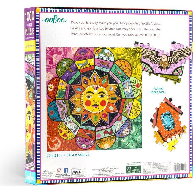 Astrology 1000 Piece Square Puzzle
