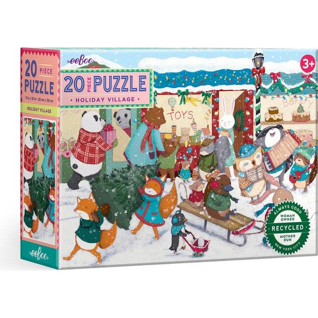 Holiday Village 20 Piece Puzzle