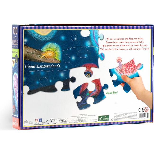 Bioluminescent 100 Piece Puzzle
