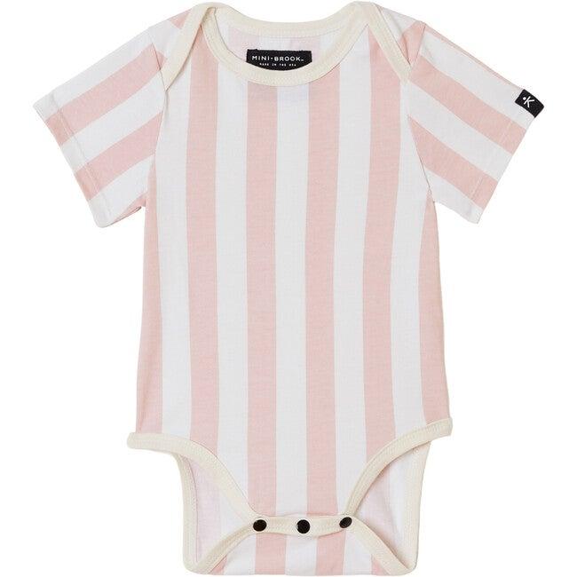 Onesie, Pink Candy Stripes