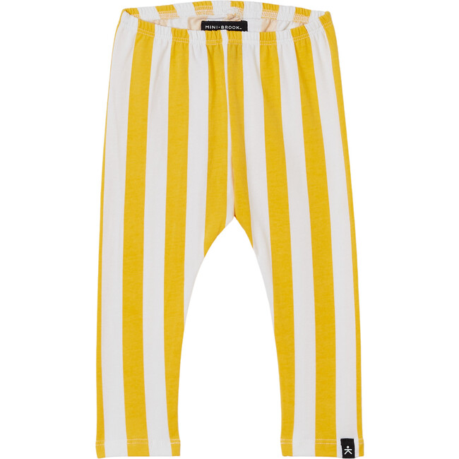 Cozy Pant, Marigold Candy Stripes