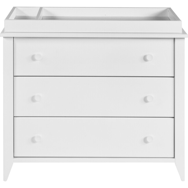 Sprout 3-Drawer Changer Dresser, White