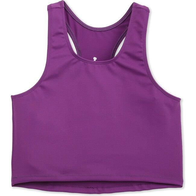 Zen Crop Top, Purple
