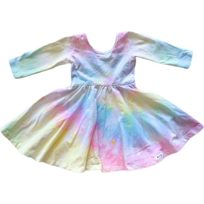 Twirly Dress, Pastel Tie Dye