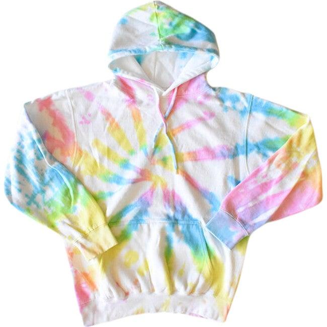Adult Tie Dye Hoodie, Pastel