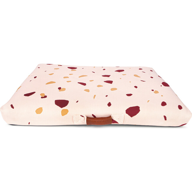 Terrazzo Dog Bed, Pink