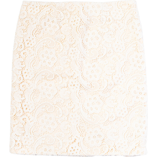 Page Skirt, Cotton Lace