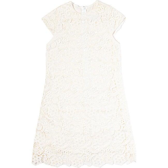 Diana Dress, Cotton Lace