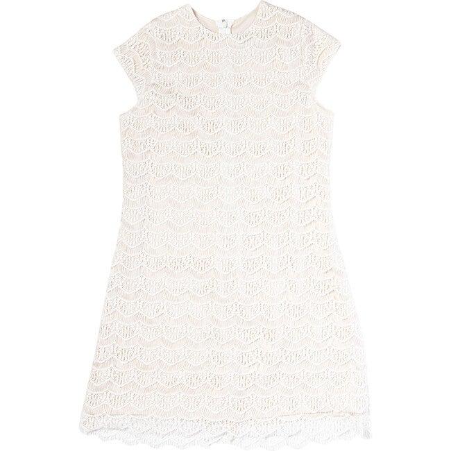 Diana Dress, Scalloped Lace
