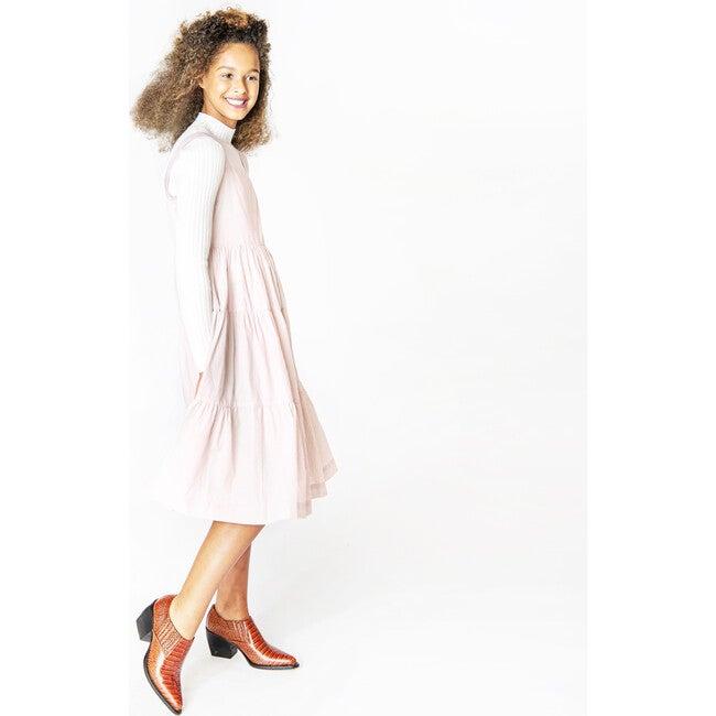 Birkin Dress, Metallic Stripe