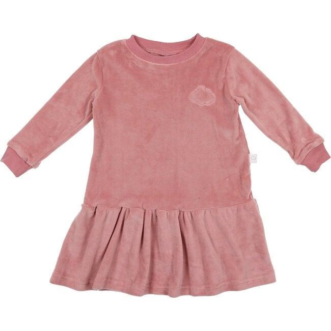 Velour Dress, Pink