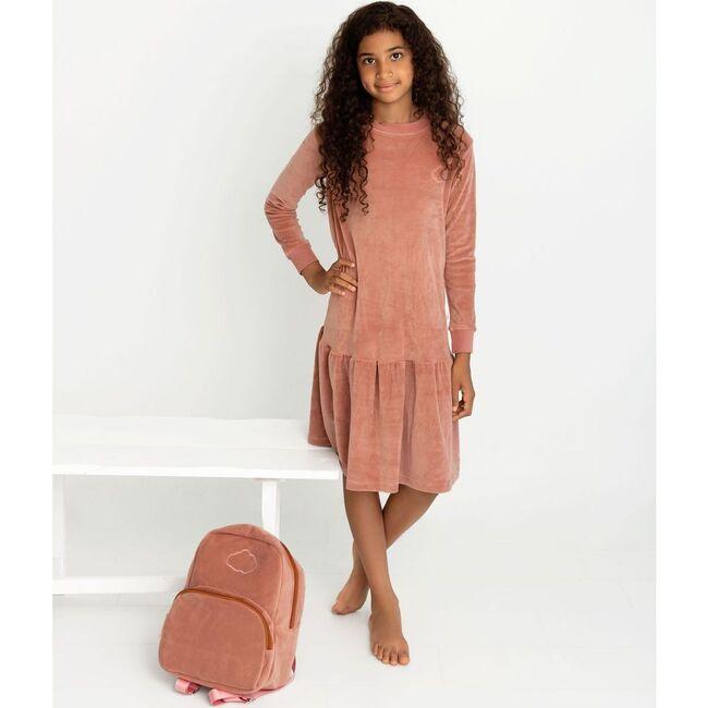 Velour Dress, Old Rose