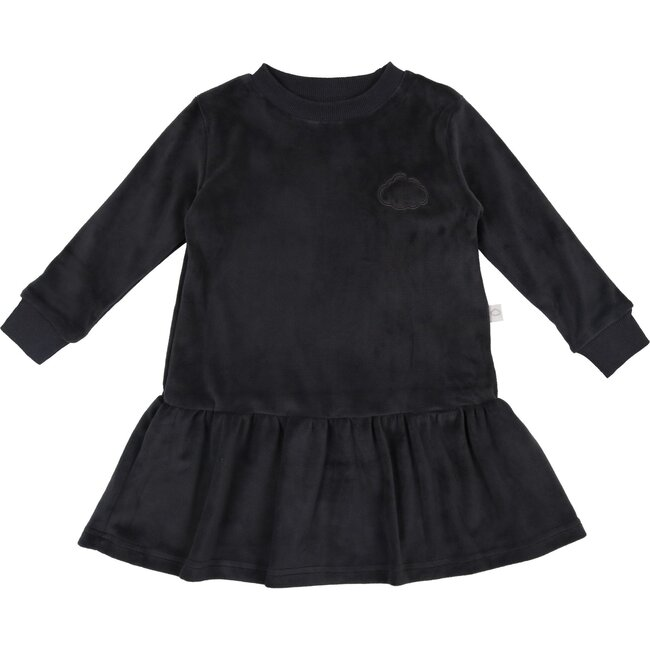 Velour Dress, Ash