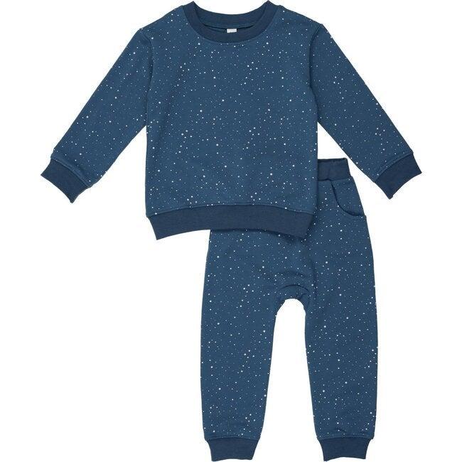 Starburst Sweatsuit, Deep blue