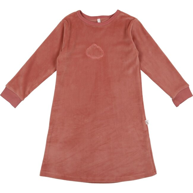 Velour Nightgown, Old Rose