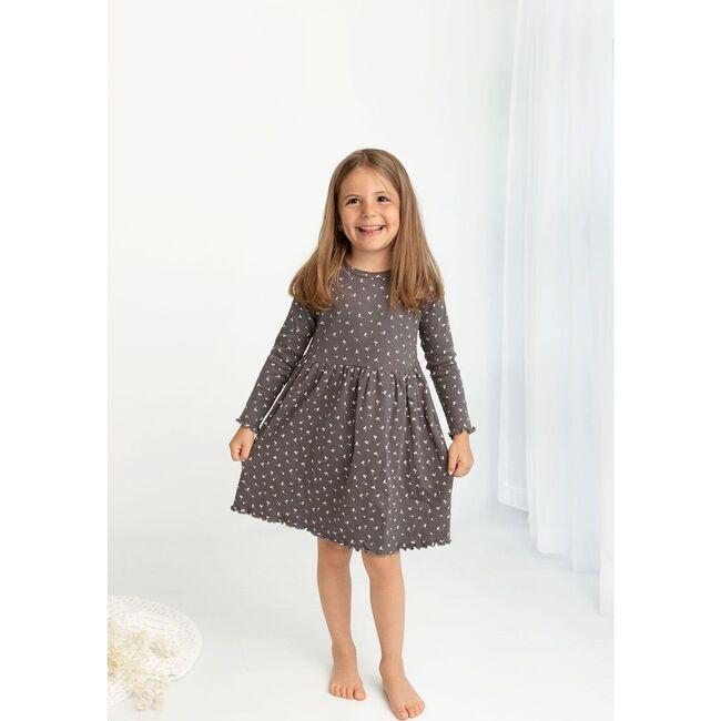 Cherry Print Dress, Ash