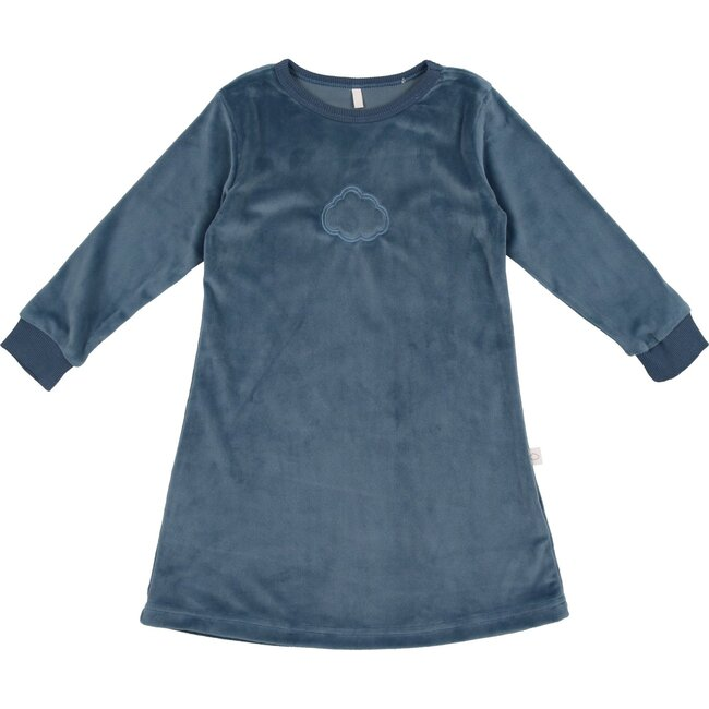 Velour Nightgown, Blue