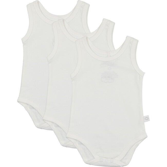 Baby Boy Undershirts-3 Pack, White