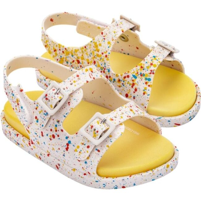 Wide II Baby Sandal, White - Sandals - 1