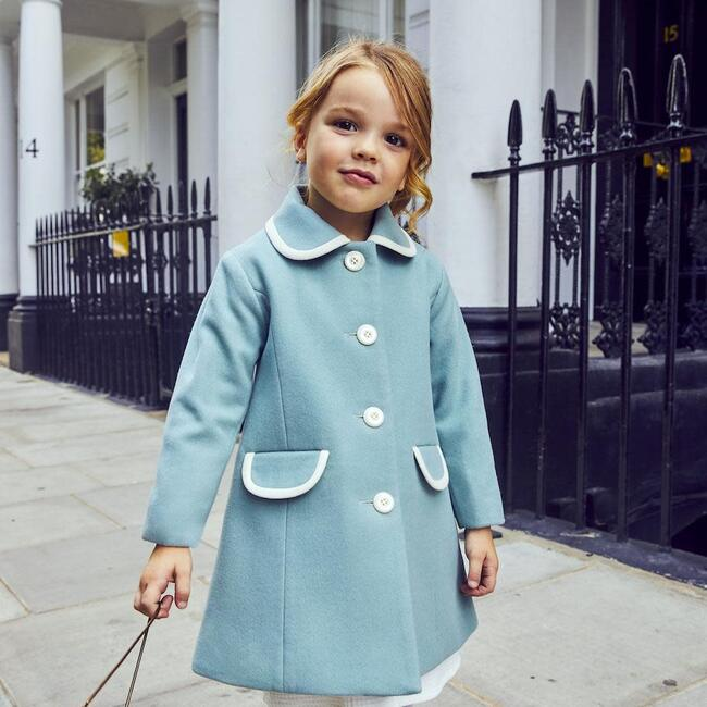 Kensington Coat, Royal Duck Egg