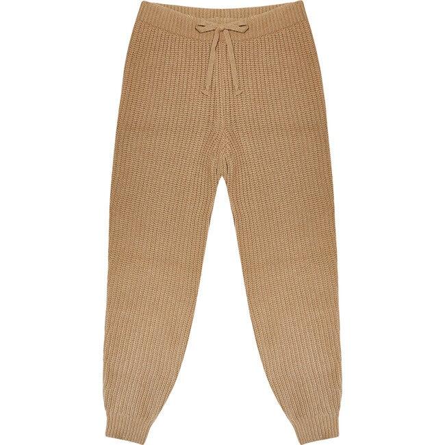Women's Easy Rib Pants, Toffe
