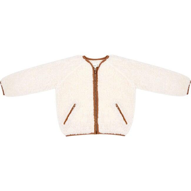 Gabrielle Jacket, Natural - Wool Coats - 1