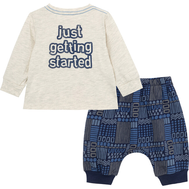 Going Places Pant Set, Grey Heather