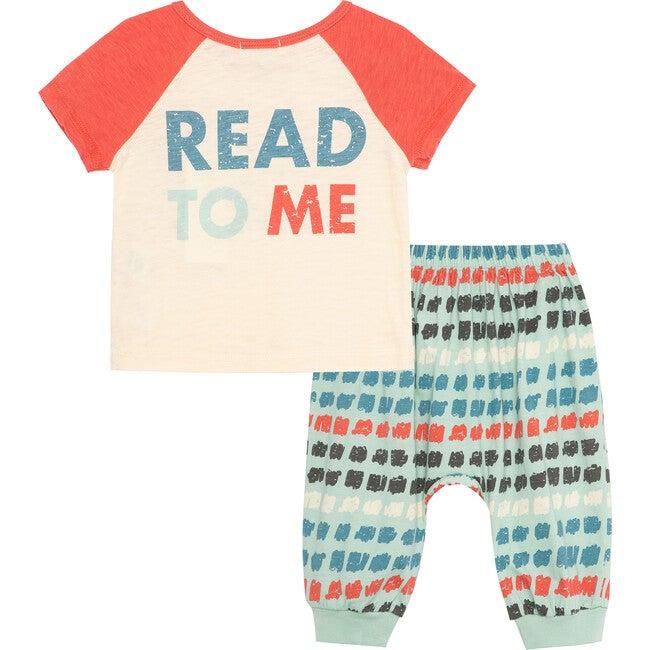 Read To Me Pant Set, Off-White
