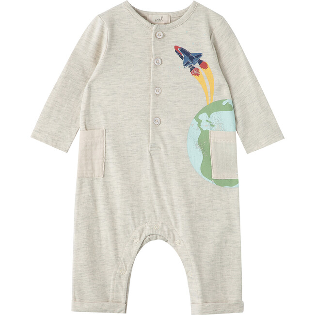 Out Of This World Coverall, Grey Heather