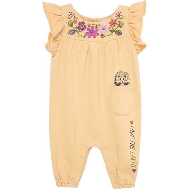The Nature Conservancy X Peek Flower Coverall, Beige