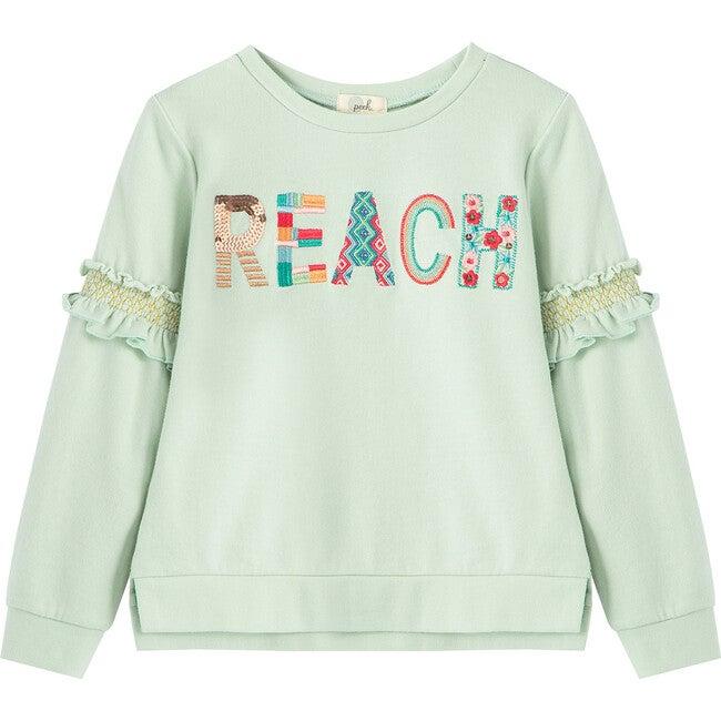 Reach Sweatshirt, Light Blue