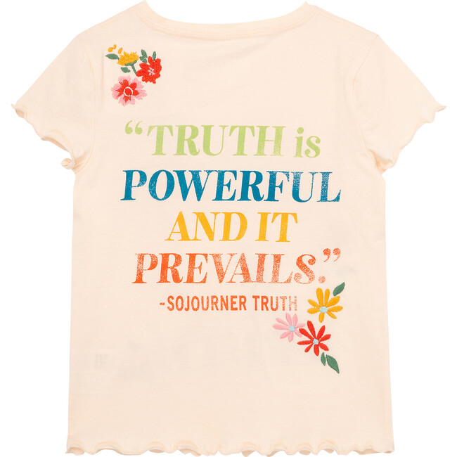 Sojourner Truth Tee, Peach
