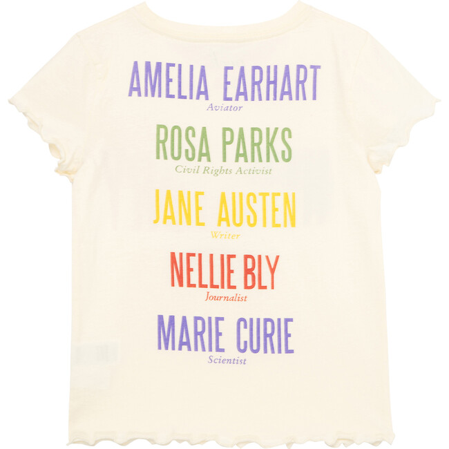 Women Of Her-Story Tee, Off-White
