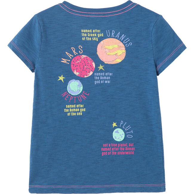 All Planets Tee, Blue