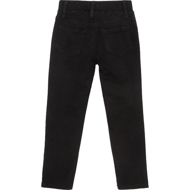 Knit Denim Pant, Black