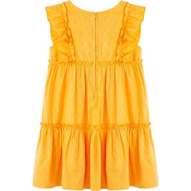 Jacquard Dress, Yellow