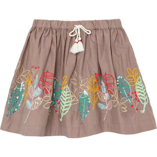 The Nature Conservancy X Peek Leaf Skirt, Taupe